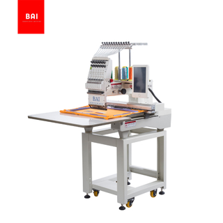 BAI High Speed Automatic 1 Head Computer Embroidery Machine for Sale