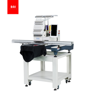BAI Single Head 12 Needles 500*1200mm Usb Embroidery Machine Embroidery Machine