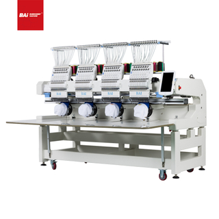 BAI High Speed Commercial Embroidery Machine for Monogram Hat Flat Cap
