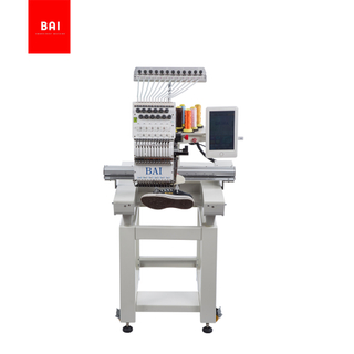 BAI Portable Automatic 1 Head 12 Needle 350*500mm Embroidery Machine