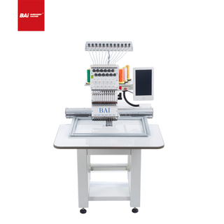 BAI Popular High Speed Single Head Cap Embroidery Machine in China