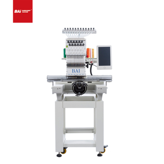 BAI Digital Single Head Computerized Cap Embroidery Machine with High Quality