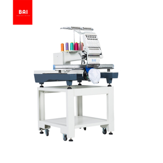 BAI High Speed Multi Function Single Head Computerized Household Hat Embroidery Machine