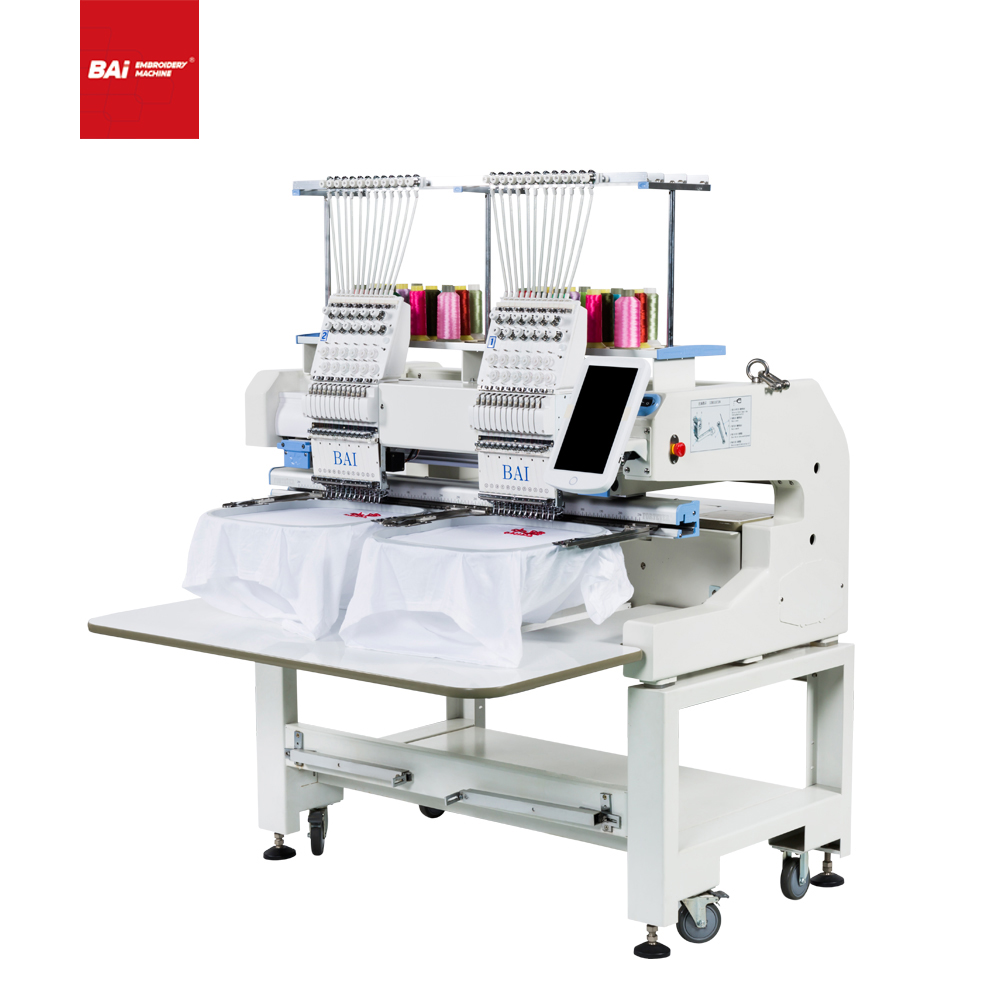 BAI Best Selling Cap T-shirt Flat Embroidery Machine for Beginners Embroidery