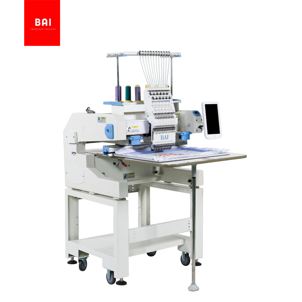BAI Computerized Efficient Digital Device Design Hat Embroidery Machine