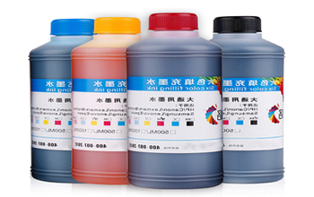 Type of ink for UV flat plate printer
