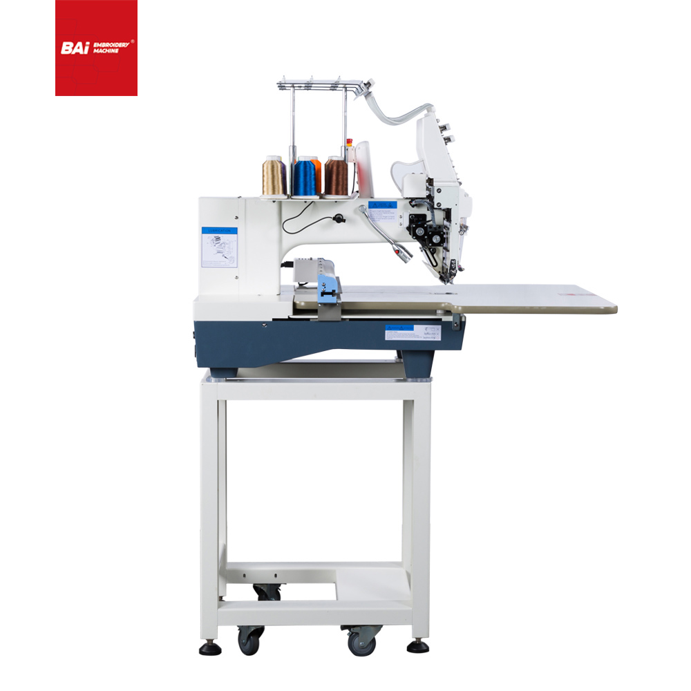 BAI Single Head Multifunctional Household Digital Embroidery Machine with Convenient Operation