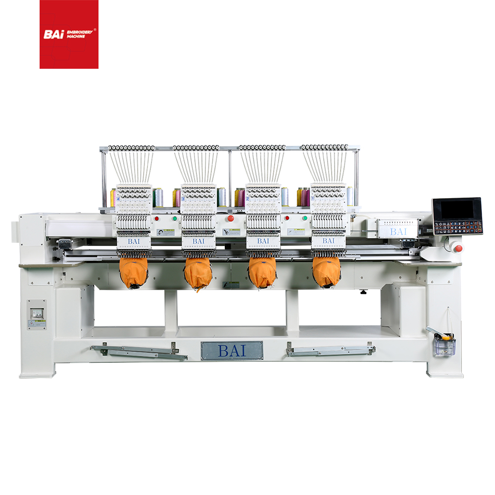 BAI Multi 4 Heads High Speed Embroidery Machine for Price
