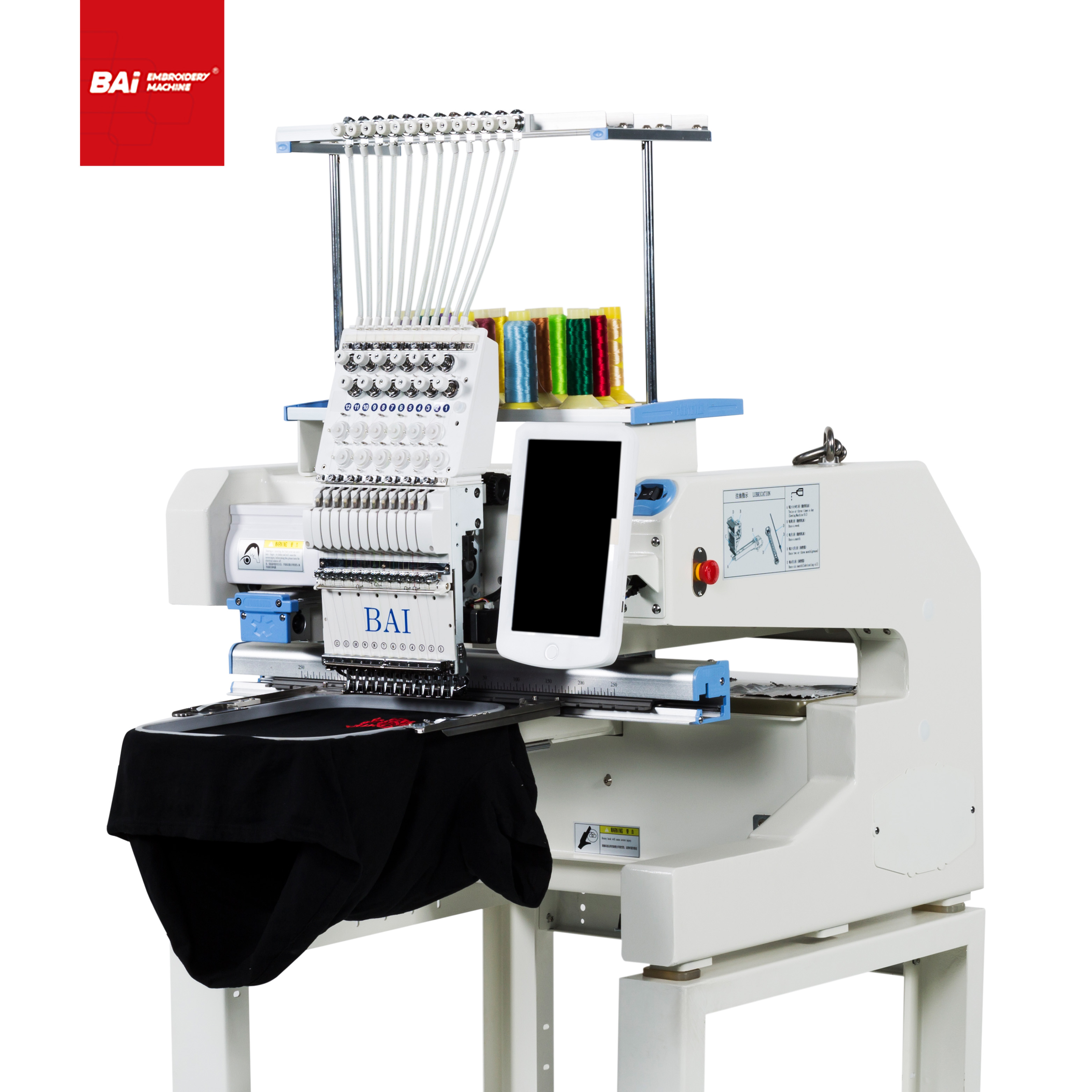 BAI Household Flat Embroidery Machines with Garment for Sale