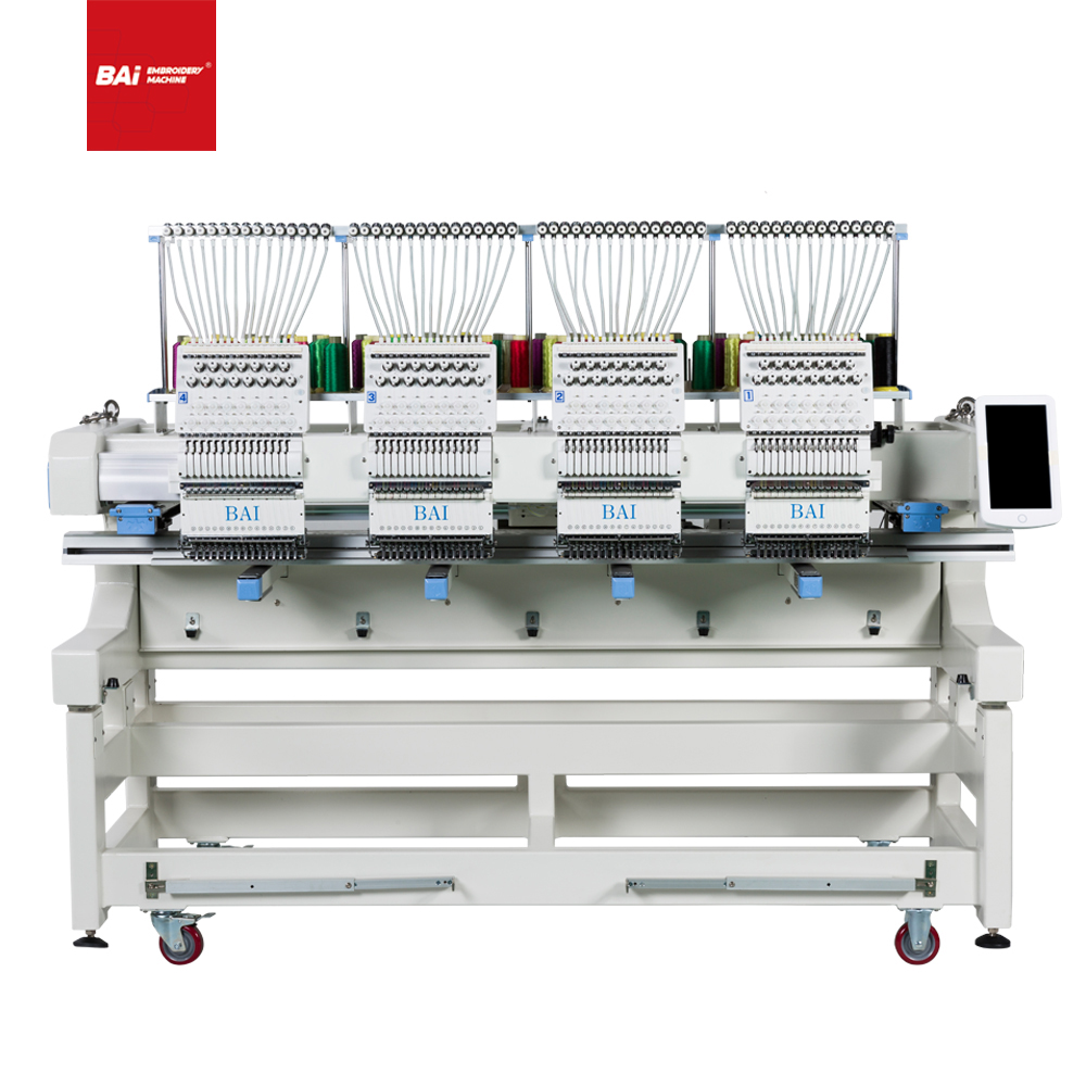 The Popular BAI High-speed Computerized Embroidery Machine in European And American Markets