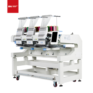 BAI 3 Head Automatic Advanced Computerized Embroidery Machine To Exit
