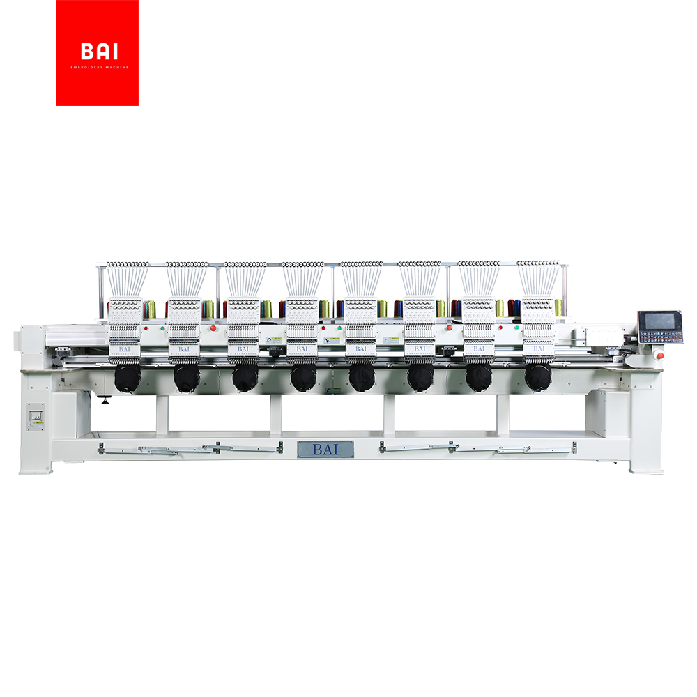 BAI Dahao D56 Control 12 Head Computer Embroidery Machine Price for Sale