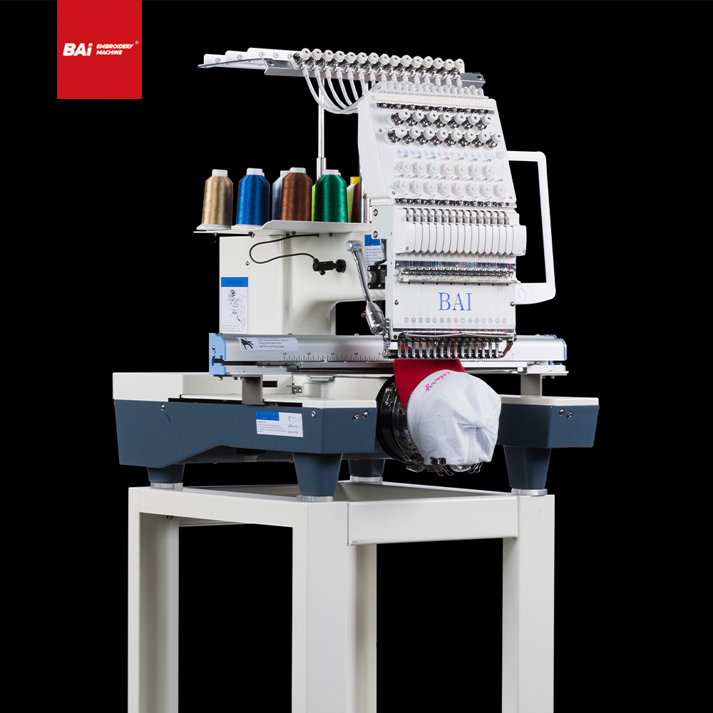 BAI Multifunctional Computer Cap Mixed Embroidery Machine with Factory Price