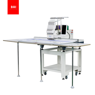 BAI Commercial Single Head 12 Needles Dahao Computer Hat Embroidery Machine