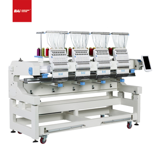 BAI High Speed Multi Head 12 15 Needles High Speed Computerized Embroidery Machine for Sale