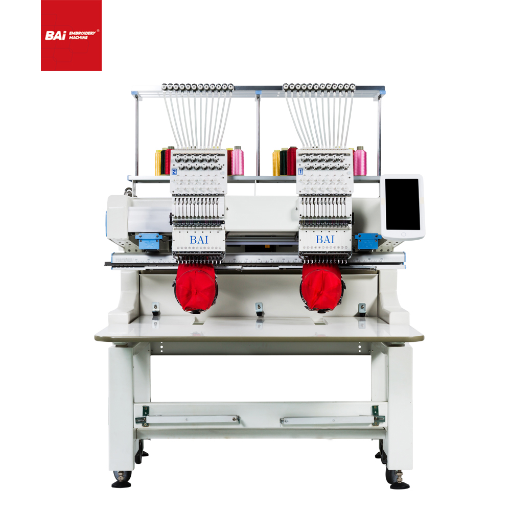 BAI Computerized Custom Hat Embroidery Machine for Embroidery Design Shop