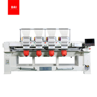 High Speed 4 Heads 12 Flat T-shirt Hat Good Quality Computerized Embroidery Machine with Good Price
