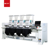 BAI Automatic 12 Needles 4 Head Computerized Embroidery Machine for Garment